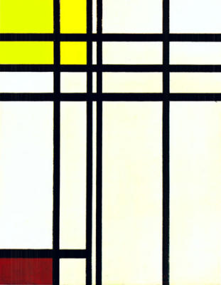 Piet Mondrian - Opposition of Lines