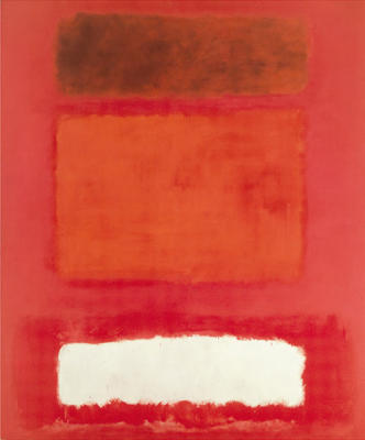 Mark Rothko, Red, White, Brown, 1957.