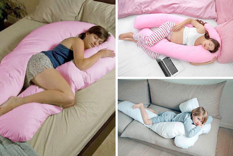 u shaped pillow pregnancy pillow case in 7 colours