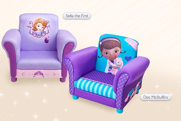 doc mcstuffins upholstered chair uk double swivel kids 6 designs london wowcher