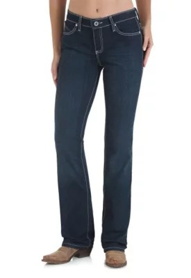Womens Jeans Fit Guide Compare Rise Wrangler