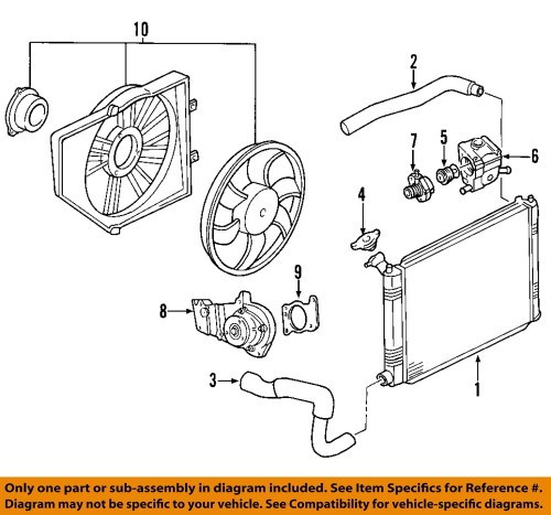 small resolution of ford hose radiator partnumber br3z8260ba