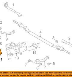 bmw oem 95 01 750il steering gear idler arm bolt 32201092452 [ 1500 x 1197 Pixel ]