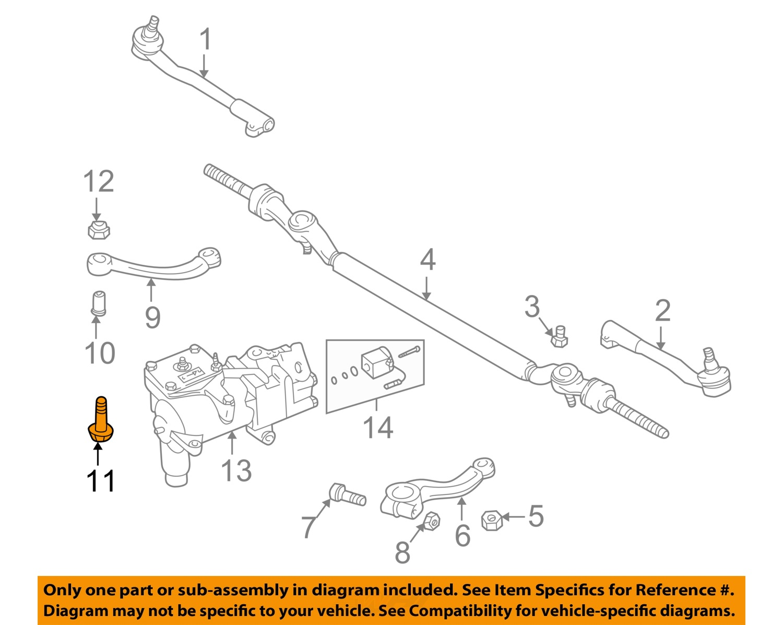 hight resolution of bmw oem 95 01 750il steering gear idler arm bolt 32201092452