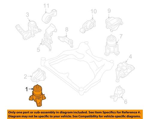 small resolution of nissan oem 07 12 altima engine torque strut mount 112709n00b nissan oem 07 12 altima engine torque strut mount 112709n00b 1 of 2