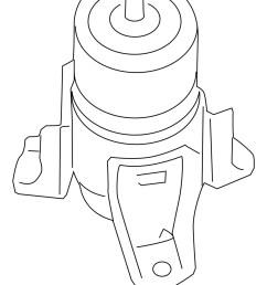 nissan oem 07 12 altima engine torque strut mount 112709n00b 2 2 of 2 see more [ 1124 x 1493 Pixel ]