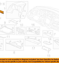 honda oem 12 15 cr z instrument panel dash fuse box cover 77301sztg01zb [ 1500 x 1197 Pixel ]