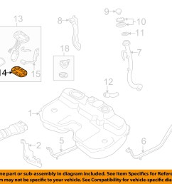 subaru oem 90 99 legacy 2 2l fuel system fuel pump assembly packing 42060aa040 [ 1500 x 1197 Pixel ]