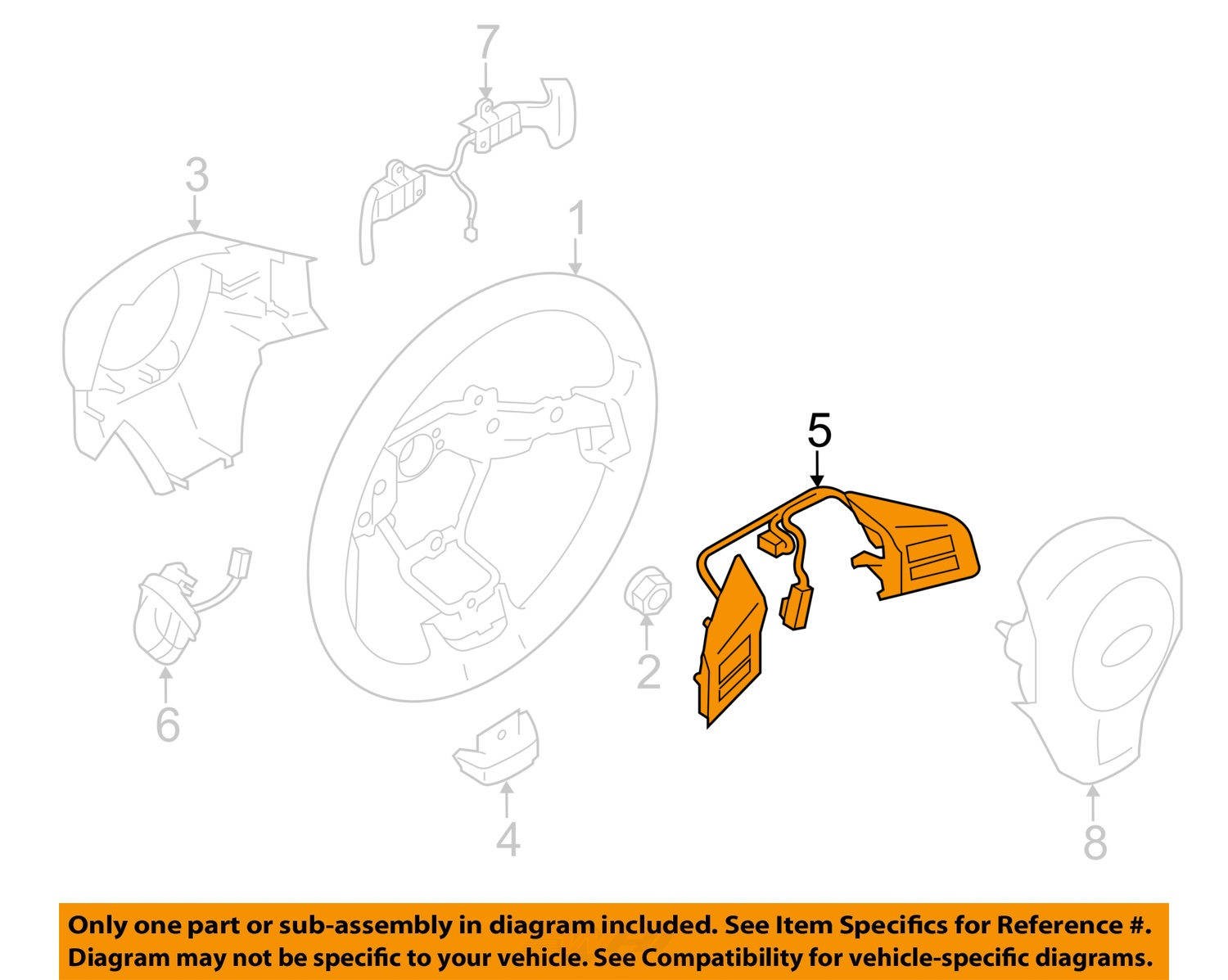 hight resolution of subaru oem 14 15 forester cruise control switch 83154sg200