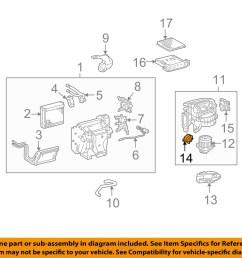toyota oem 07 14 fj cruiser blower motor resistor 8713860280 [ 1500 x 1197 Pixel ]