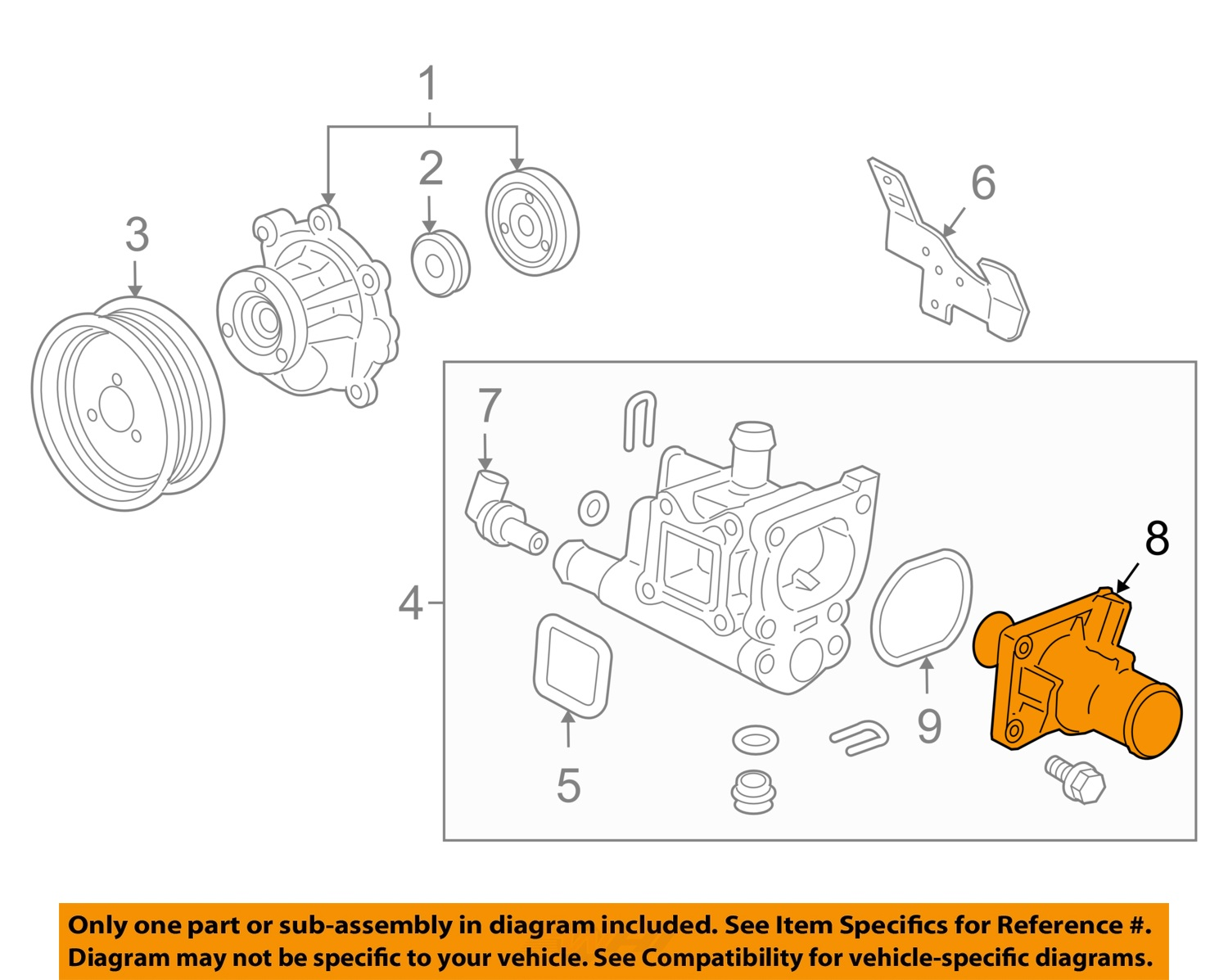 hight resolution of chevrolet gm oem 12 15 sonic engine coolant thermostat 55597008