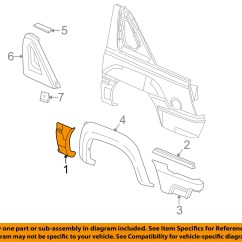 2002 Chevy Avalanche Parts Diagram Honda Civic 2000 Fuse Box Chevrolet Gm Oem 1500 Exterior Side Molding
