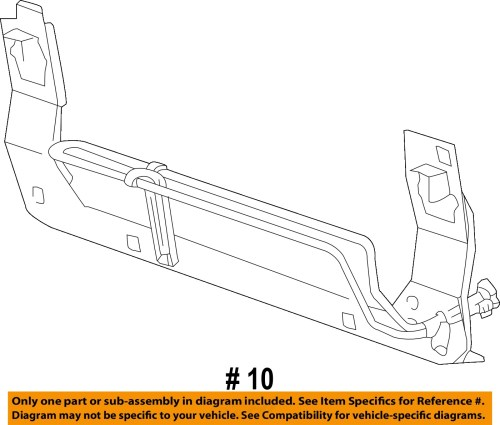 small resolution of ford 03 04 mustang pump hoses steering power steering