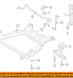 ford oem front suspension lower control arm bolt w500545s439 [ 1500 x 1197 Pixel ]