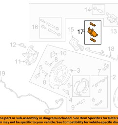 ford oem 12 13 f 150 brake rear pads cl3z2200b [ 1500 x 1197 Pixel ]