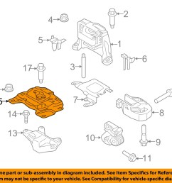 ford oem focus engine transmission mounting upper transmission mount av6z6068a [ 1500 x 1197 Pixel ]