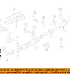 ford oem 08 10 f 250 super duty 6 4l v8 exhaust pipe gasket 7c3z6l612b [ 1500 x 1197 Pixel ]