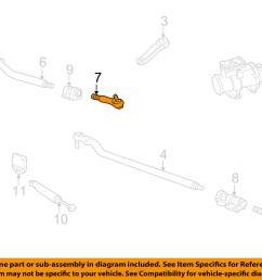 ford oem 99 07 f 250 super duty steering gear center link right ac3z3304c [ 1500 x 1197 Pixel ]