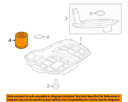 small resolution of chrysler oem automatic transmission filter 5179267ac