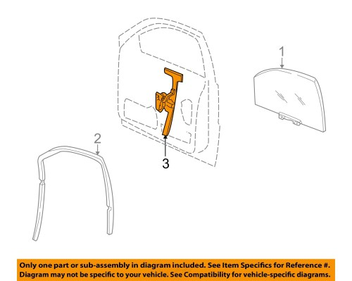 small resolution of jeep chrysler oem 01 04 grand cherokee front door window regulator 55363286ae