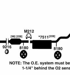 2000 lexus rx300 exhaust diagram  [ 1500 x 582 Pixel ]