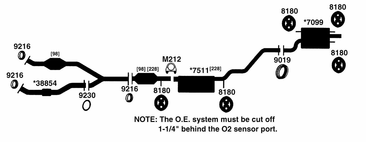 hight resolution of 2000 lexus rx300 exhaust diagram