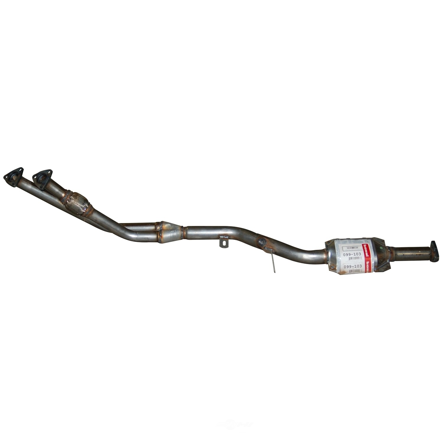 Catalytic Converter Fits Bmw 325e Bosal 49 State