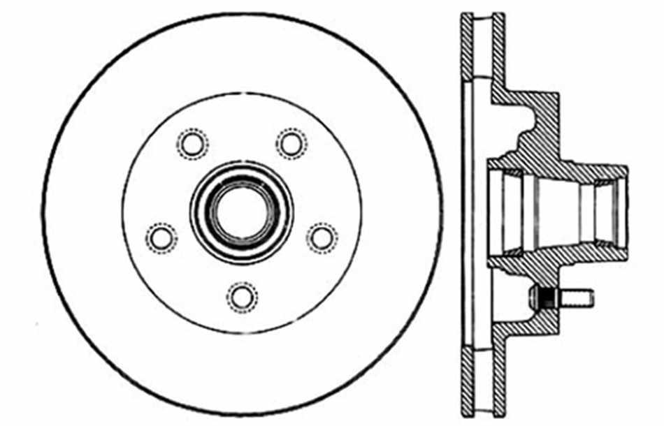 Disc Brake Rotor fits 1971-1974 GMC Jimmy C15/C1500