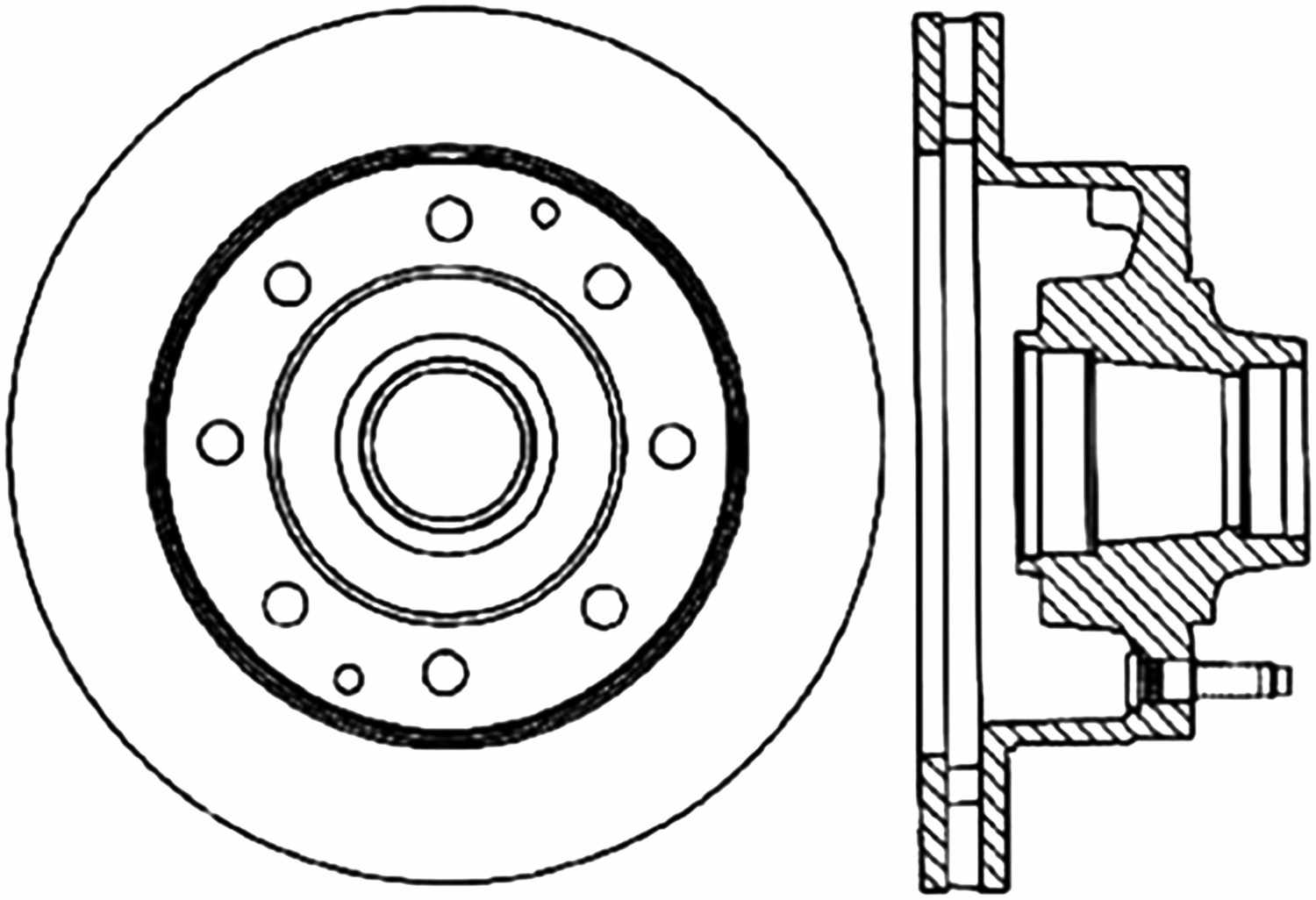 C Tek Standard Disc Brake Rotor Preferred Fits Ford E 250 Econoline E