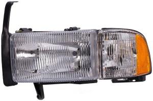 Headlight Assembly fits 19942002 Dodge Ram 2500,Ram 3500