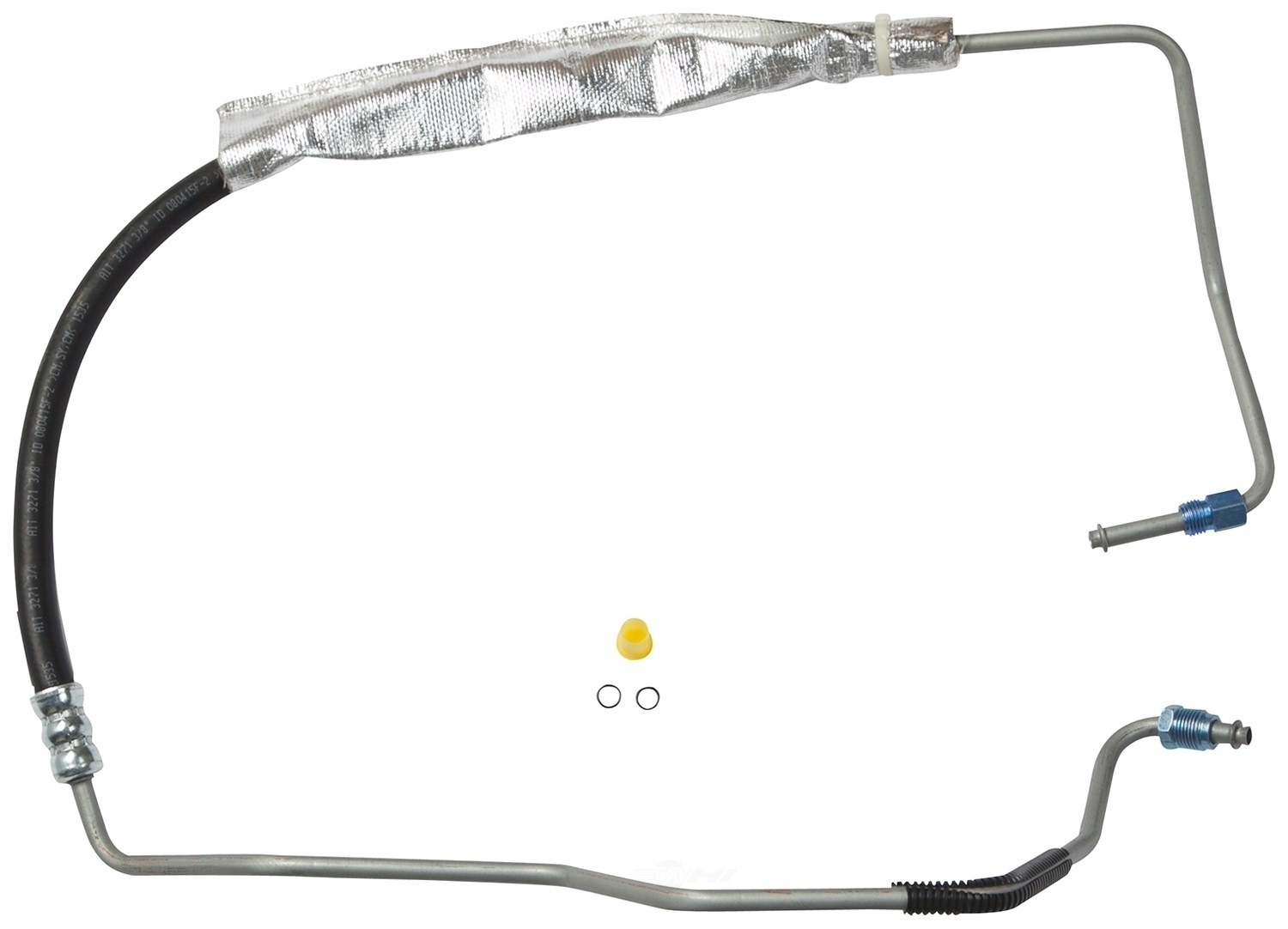 Power Steering Pressure Line Hose Assembly GATES fits 04