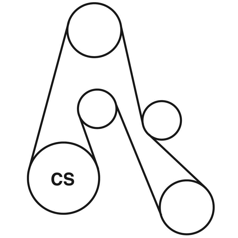 medium resolution of 94 dodge caravan belt diagram