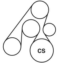 2003 hyundai santa fe belt routing diagram  [ 900 x 900 Pixel ]