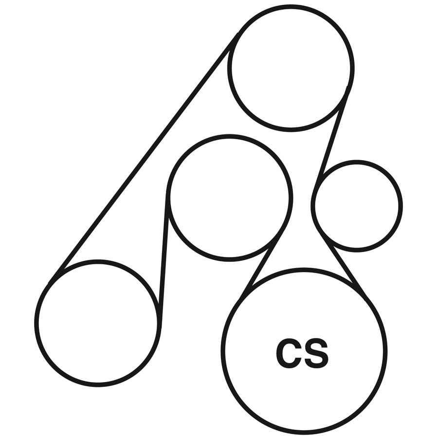 medium resolution of 2003 hyundai santa fe belt routing diagram