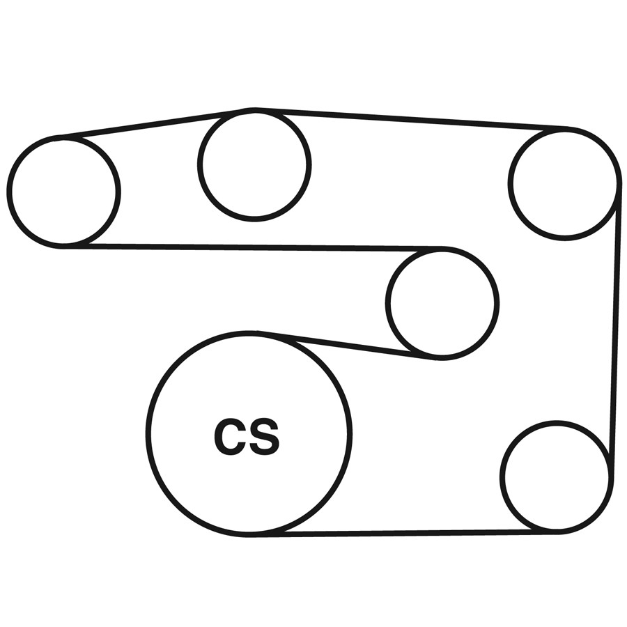medium resolution of 1997 mercedes benz c230 belt routing diagram