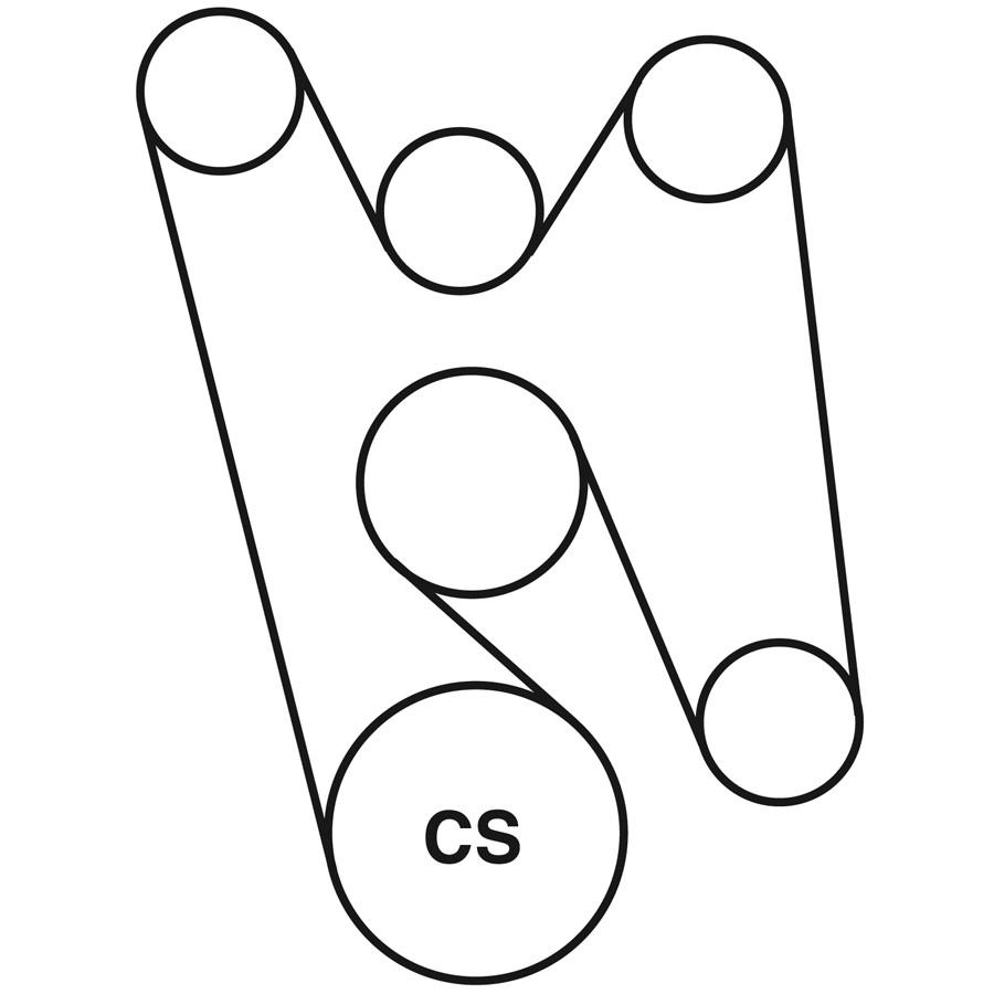 2003 escalade serpentine belt diagram