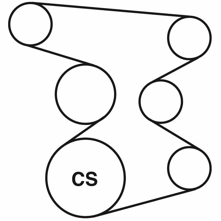 hight resolution of 2003 hyundai santa fe belt routing diagram
