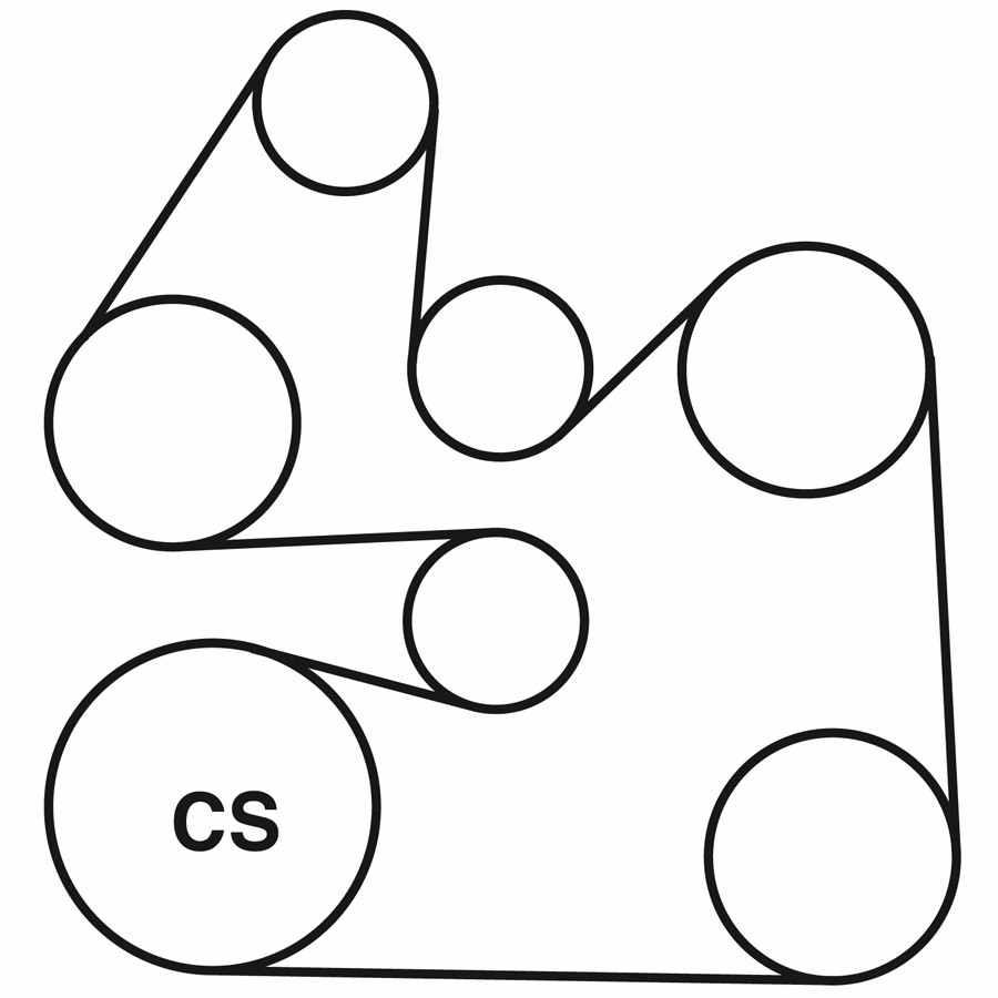 medium resolution of lincoln l v6 serpentine belt routing diagram