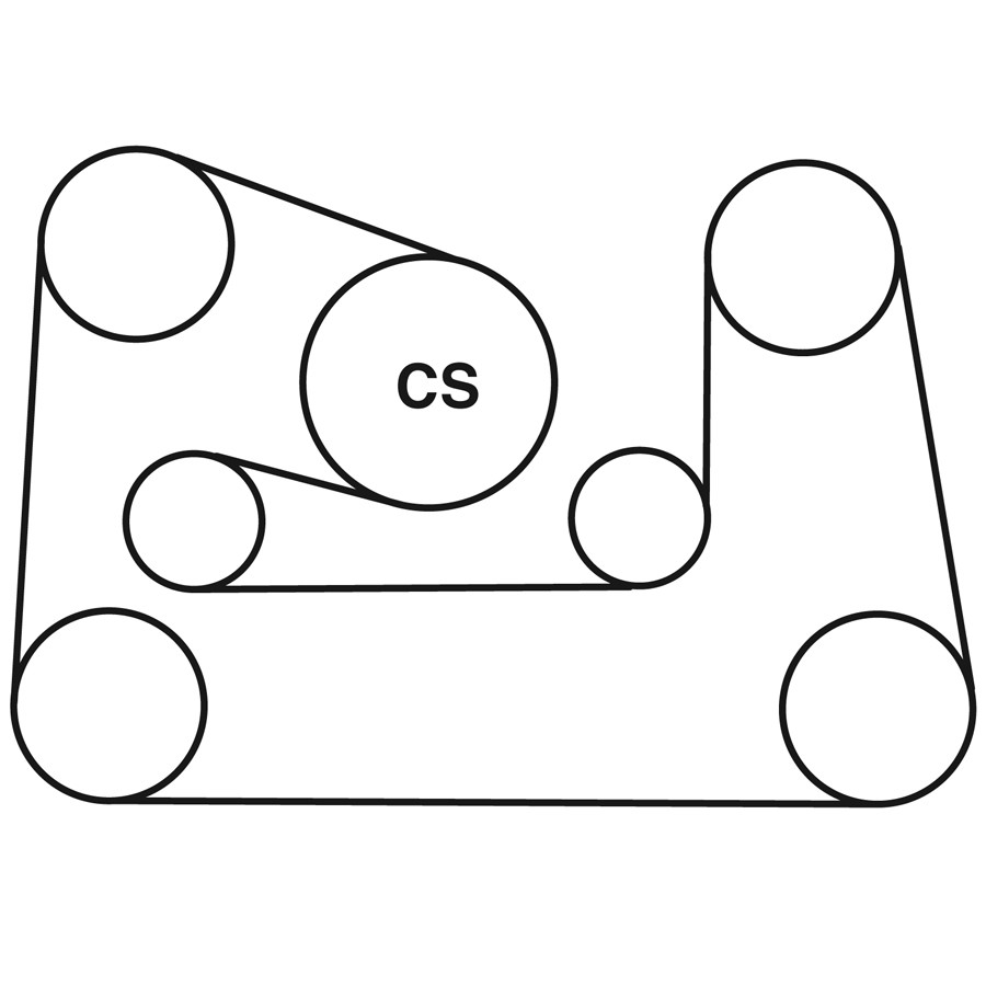 AUDI A8 QUATTRO Belt Routing Diagram from Best Value Auto