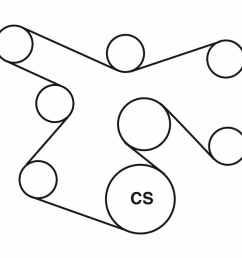 1993 chevy belt diagram [ 900 x 900 Pixel ]