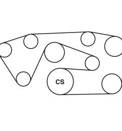 1995 mercedes benz e320 belt routing diagram  [ 900 x 900 Pixel ]