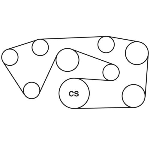 small resolution of 1995 mercedes benz e320 belt routing diagram