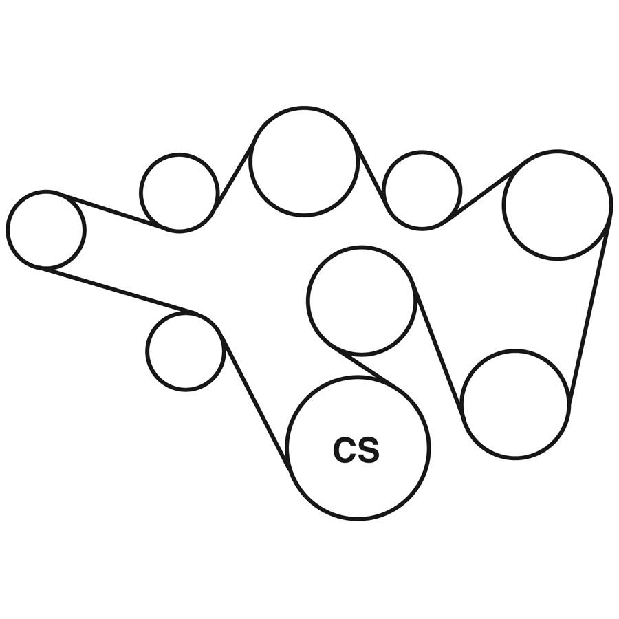 hight resolution of 1993 chevy belt diagram