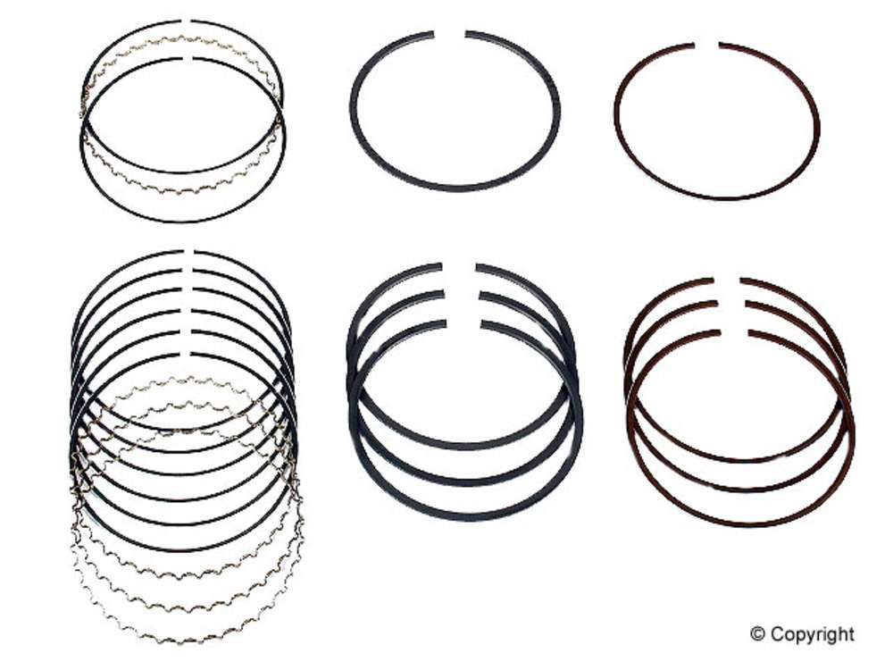 NPR Engine Piston Ring Set fits 1986-1997 Suzuki Swift