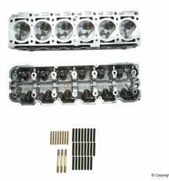 amc new engine cylinder head fits 1988 1993 bmw 325i 325is 325ix 525i [ 1000 x 1000 Pixel ]