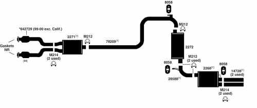 small resolution of chrysler 300m exhaust diagram from best value auto parts 2004 ford expedition engine diagram 2004 chrysler 300m engine diagram