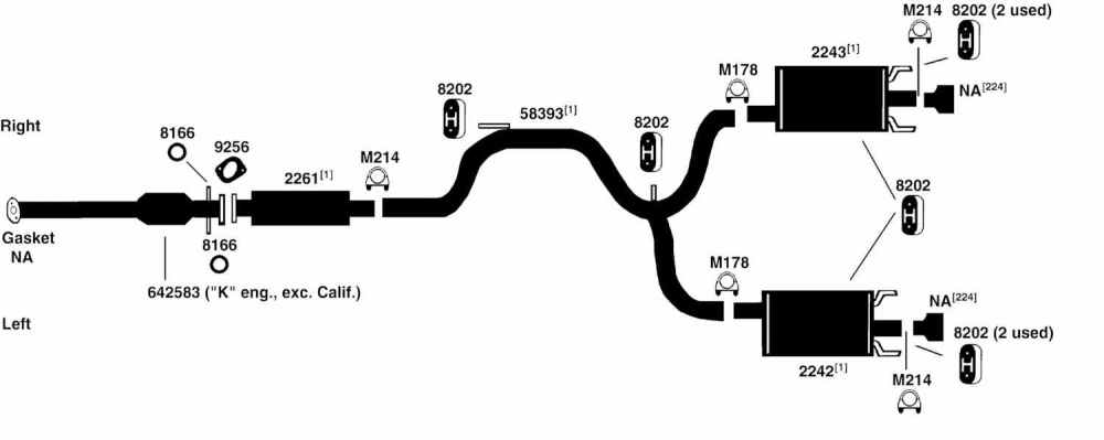 medium resolution of 2000 pontiac grand prix exhaust diagram