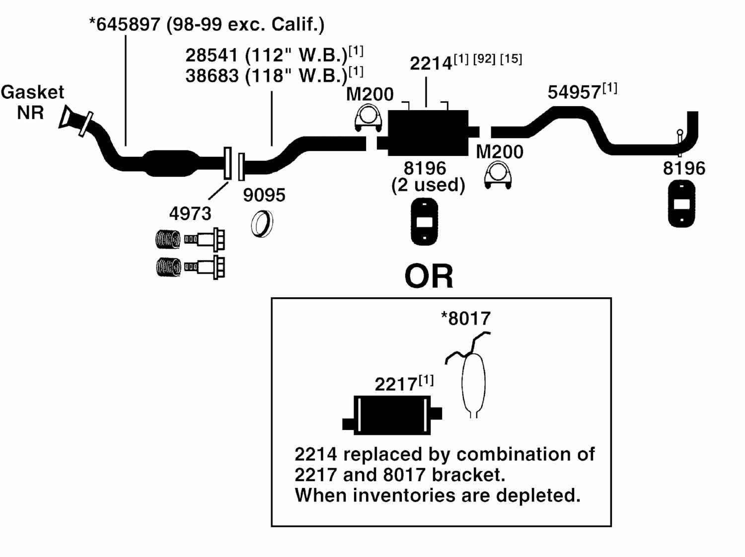 1999 ford ranger engine diagram 2006 nissan pathfinder stereo wiring exhaust from best value auto parts