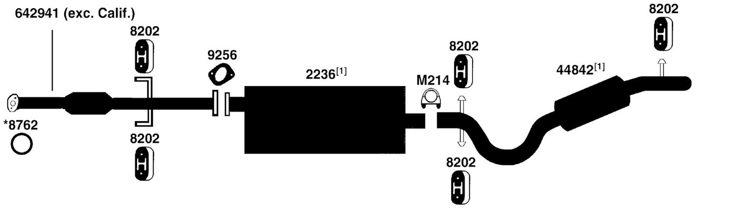 2001 pontiac montana engine diagram wiring lights in series trans sport exhaust from best value auto parts