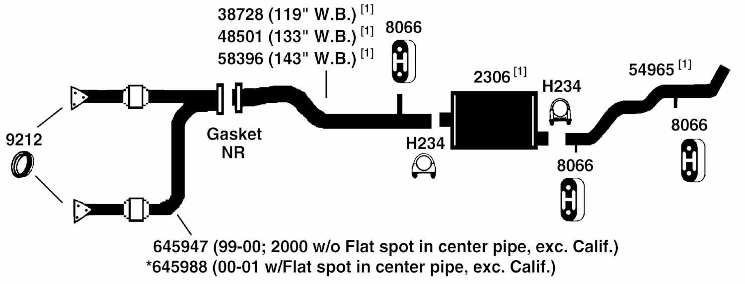 hight resolution of chevrolet silverado 1500 exhaust diagram from best value auto parts 2003 silverado 1500 exhaust system 2003 silverado exhaust diagram
